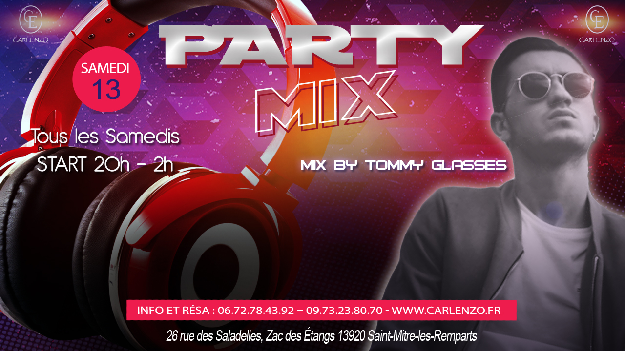 party-mix 13 janvier 2018