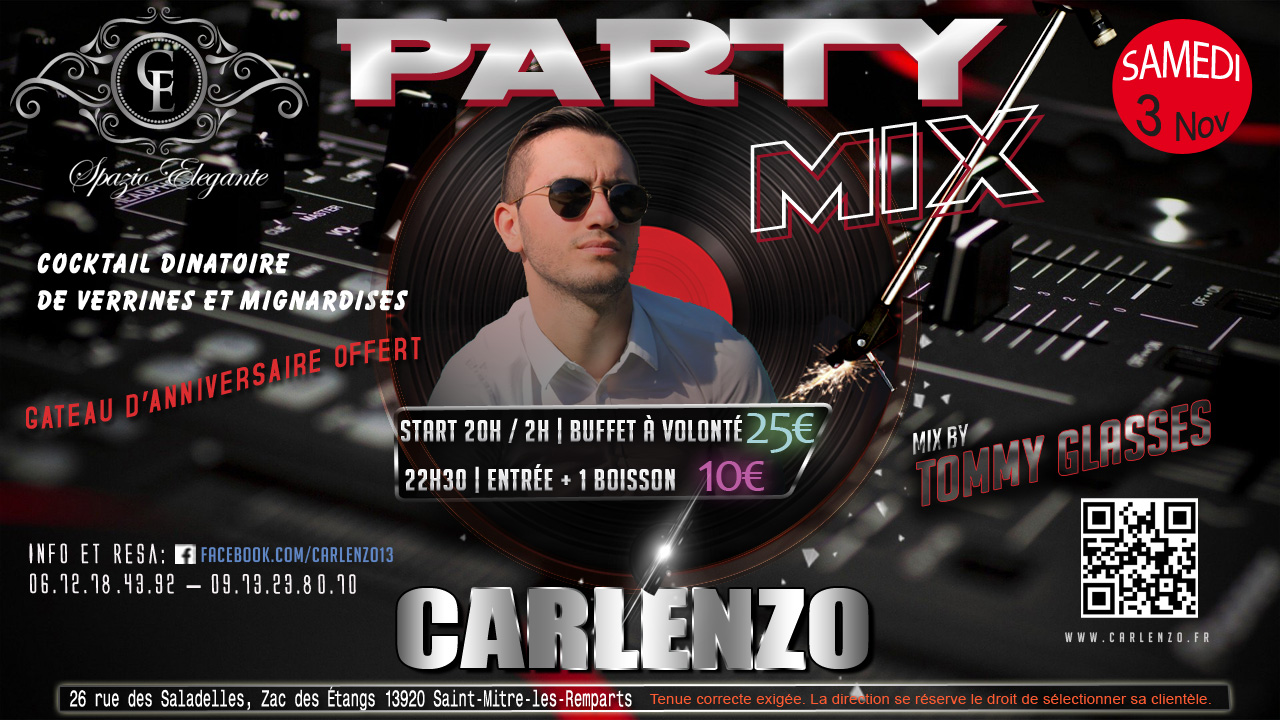 3 nov-party mix